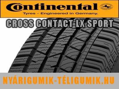 CONTINENTAL ContiCrossContact LX Sport - nyárigumi