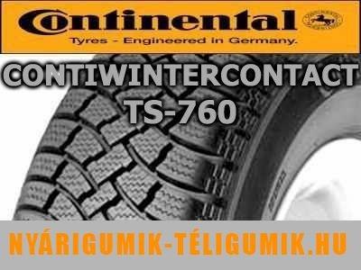 CONTINENTAL ContiWinterContact TS 760