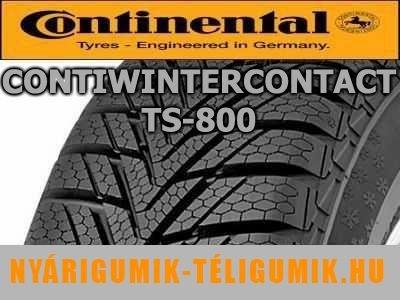 CONTINENTAL ContiWinterContact TS 800 - téligumi