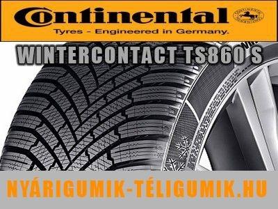 CONTINENTAL WinterContact TS 860 S - téligumi