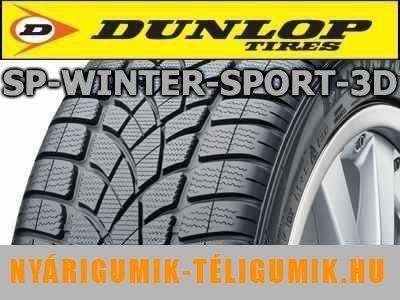 DUNLOP SP Winter Sport 3D - téligumi