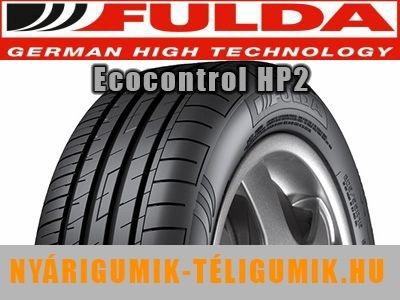 FULDA ECOCONTROL HP 2 - nyárigumi
