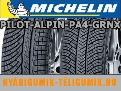 MICHELIN Pilot Alpin PA4 GRNX 235/45R20 100W