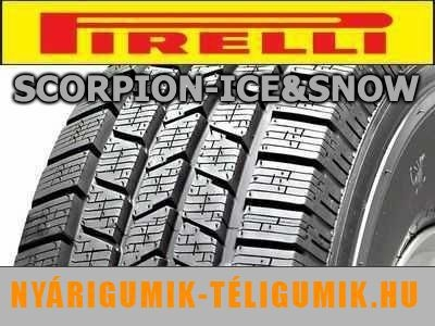 PIRELLI Scorpion Ice & Snow - téligumi