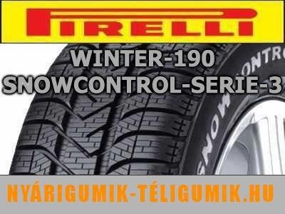 PIRELLI Winter 190 Snowcontrol 3 - téligumi