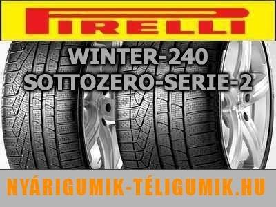 PIRELLI Winter 240 Sottozero Serie 2 225/40R18 92V