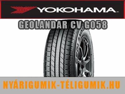 YOKOHAMA GEOLANDAR CV G058